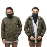 Review Pada Awl Jaket Parka Green Dakron