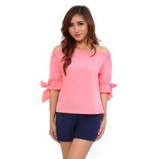 Diskon Ayako Fashion Blouse Daisy 4131 Pink Branded