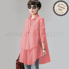 Harga Ayako Fashion Blouse Hiraku Ho Pink Origin