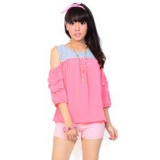 Ayako Fashion Blouse Villa 4137 (Pink)
