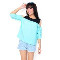 Ayako Fashion Blouse Villa 4137 (Turkis)