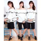 Spesifikasi Ayako Fashion Blouse Wanita Sona Putih Terbaru