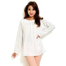 Toko Jual Ayako Fashion Blouse Wins 348 White