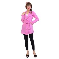 Harga Hemat Ayako Fashion Cardigan Long Sleeve Monza Pink