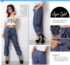 Perbandingan Harga Ayako Fashion Celana Joggers Cybil Navy Di Indonesia