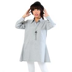 Ayako Fashion Dress Ayano 4140 Am Grey Ayako Fashion Diskon 30
