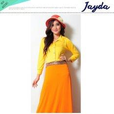Ayako Fashion Dress Casual Short Sleeves Jayda Kuning Dki Jakarta Diskon 50