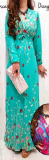 Jual Ayako Fashion Dress Maxi Anisyah Tosca Antik