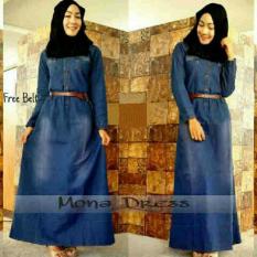Ayako Fashion Dress Maxi Jeans Mona - YU