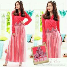 Ayako Fashion Dress Piony - HO (Pink)