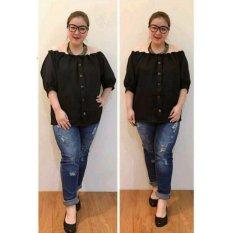 Ayako Fashion Dress Wanita Isabel Jumbo - (Black)