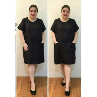Dress Ukuran Besar Wanita