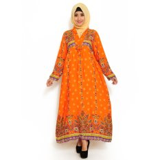 Diskon Besarayako Fashion Maxi Boston Orange
