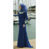 Jual Ayako Fashion Set 2 In 1 Ewina Hijab Ay Navy Antik