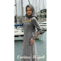 Beli Ayako Fashion Set 2 In 1 Ewina Hijab Grey Nyicil