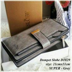 Toko Ayako Fashion Slobe D1029 Wallet Grey Ayako Fashion Dki Jakarta