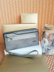Harga Ayako Fashion Slobe D1051 Wallet Grey Online
