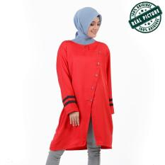 Review Terbaik Ayako Fashion Tunik Azzahra Red