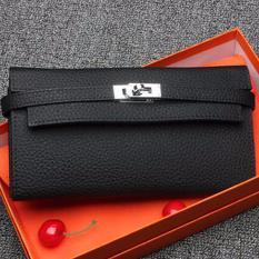 Spesifikasi Ayako Fashion Women Leather Purse Wallet Hm 776 Black Yang Bagus