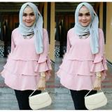 Toko Ayu Fashion Blouse Marimar Dustypink Best Seller Ayu Fashion