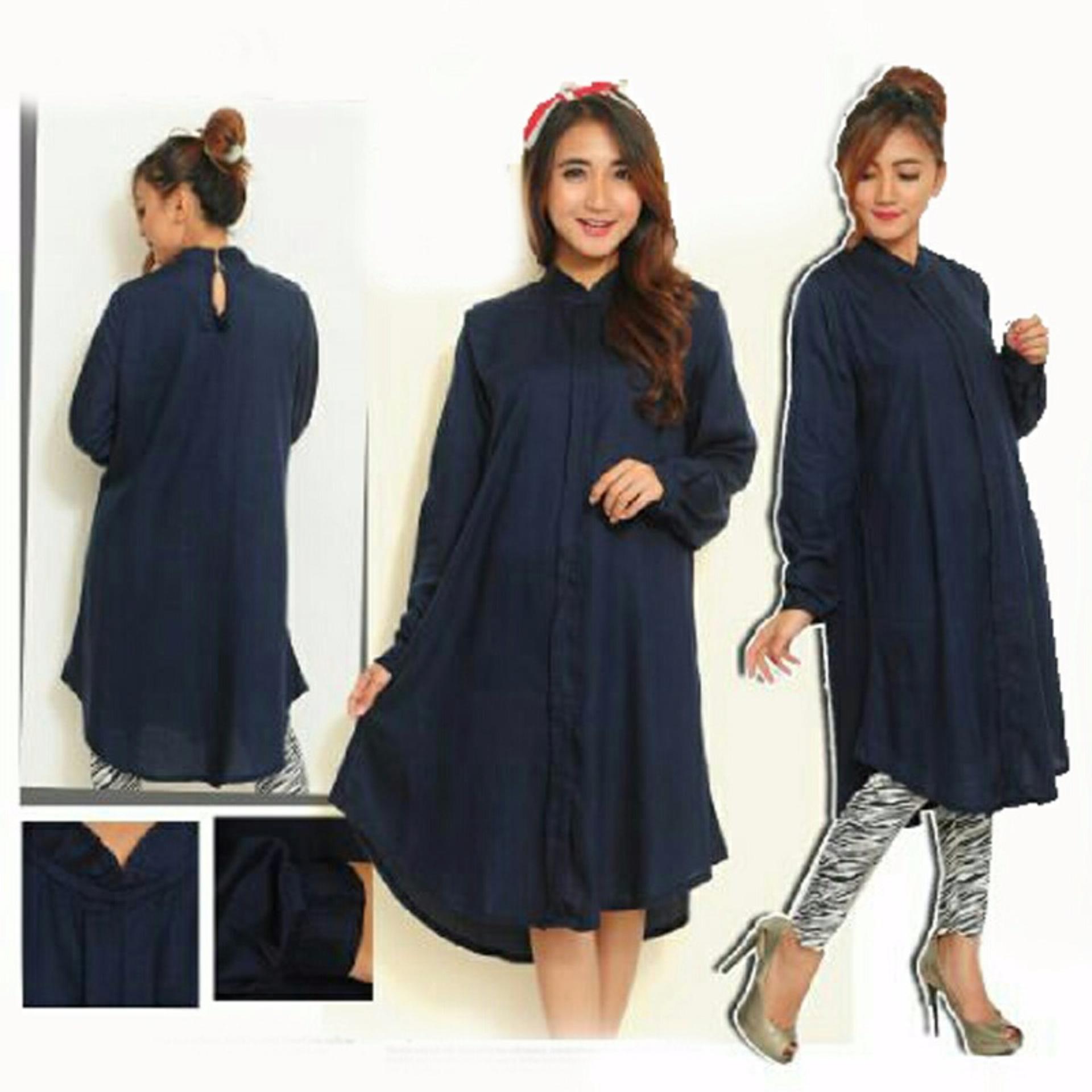 Pencarian Termurah Ayu Fashion Dress Sandi - Navy - Best Seller harga penawaran - Hanya Rp64.116