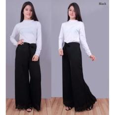 Ayu Fashion Kulot Fradella - Hitam - Best Seller