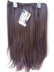 Ayumi Hairclip Biglayer Lurus Darkbrown Diskon Akhir Tahun