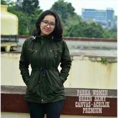 Berapa Harga Az Jaket Parka Wanita Premium Green Army Azkar Di Jawa Barat