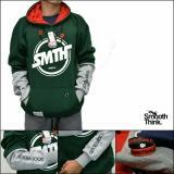 Promo Sweater Pria Smth Bullet Hijau Botol Abu Muda Murah