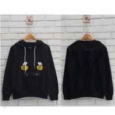 Diskon Azam Clobber Bee Hodie Rabbit Sweater Fleece Sweater Hodie Wanita