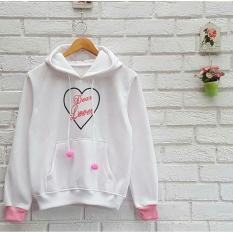 Harga Azam Clobber Sweater Wanita Dear Love Sweater Fleece By Azam Original