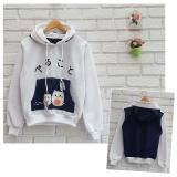 Beli Azam Clobber Sweater Wanita Hamster Navy Sweater Fleece By Azam