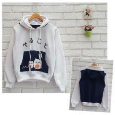 Toko Azam Clobber Sweater Wanita Hamster Navy Sweater Fleece Yang Bisa Kredit