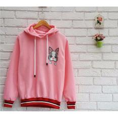 Model Azam Clobber Sweety Rabbt Hodie Sweater Fleece Terbaru