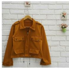 AzamClobber Moniq Jacket - Fleece - Jaket wanita Best Seller