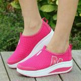 Jual Azkashoes Slip On M Jaring Pink Azkashoes Grosir