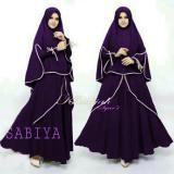 Spek Azure Fashion Sabiya Syarii Juwet Gamis Wanita Gamis Muslim