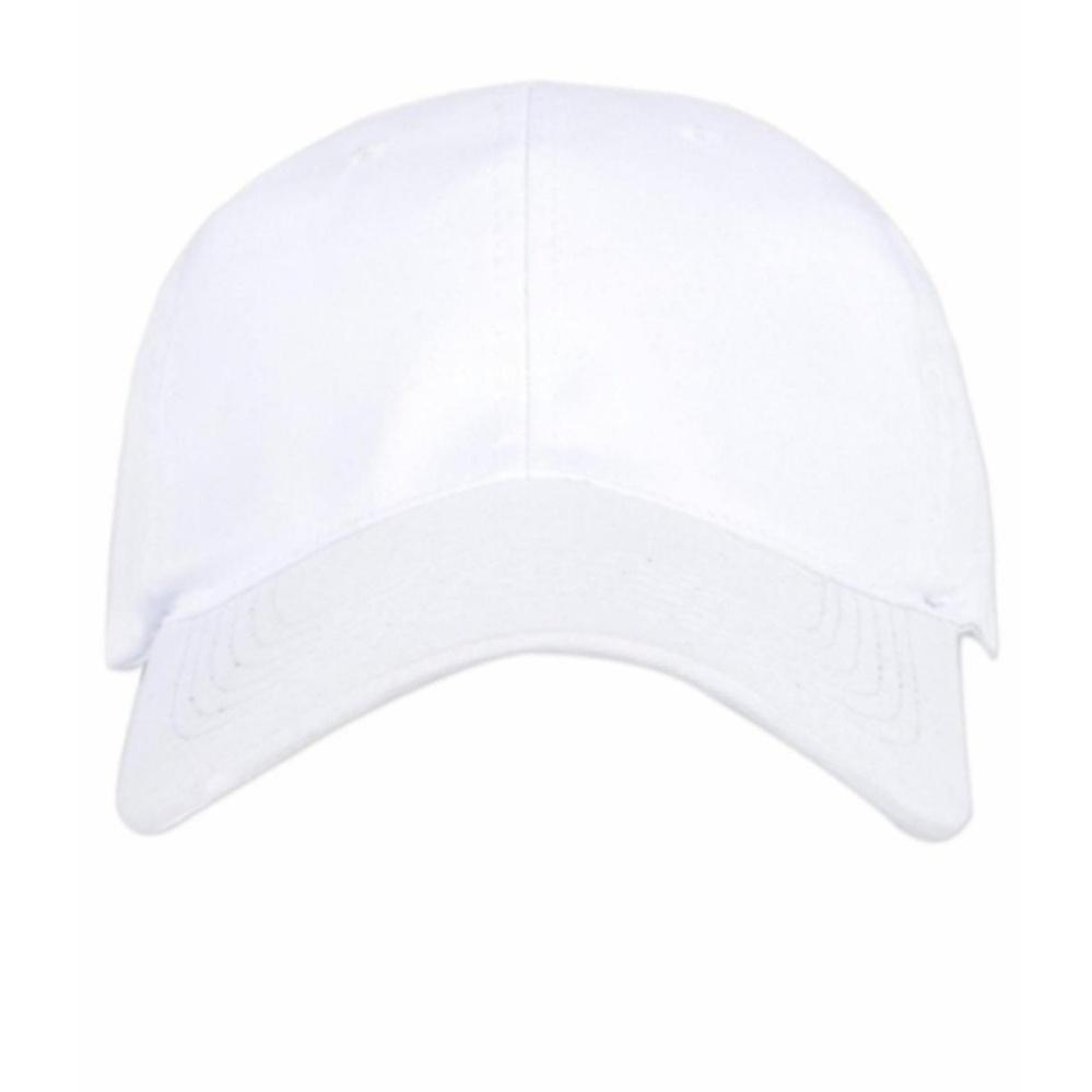 Price Checker Azzalea Jaya-Topi Basic Twill Pria Polos Baseball Cap-Putih  pencari harga 888cd44989
