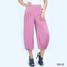 AZZR Katun OOTD Hijab Wanita Pink 350-32