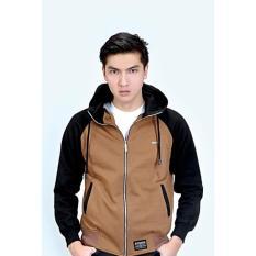 Toko Azzura 508 08 Sweater Hoodies Pria Fleece Keren Dan Gaul Brown Dekat Sini
