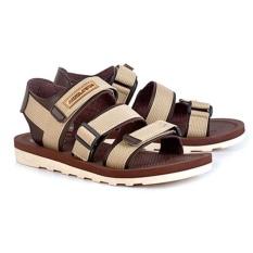 azzura 552-27 sandal gunung pria - webing - gagah dan keren (brown)