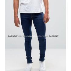 B A E Weah Celana Skiny Jeans Pria Celana Jeans Pria Street Bae Weah Bio Wash Poptastic Murah Di Jawa Barat