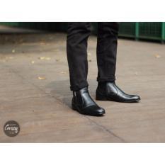 Beli B A E Weah Cevany Sepatu Fantopel Leather Men S Fox Hitam Murah Jawa Barat