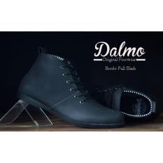 B A E WEAH Sepatu Brodo Dalmo Boots - Dalmo original ( HITAM )