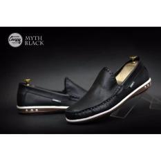 Spesifikasi B A E Weah Sepatu Slip On Casual Cevany Myth Hitam Terbaik