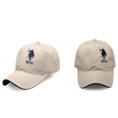 b0d0 panas rekreasi kota berkendara penting matahari topi Paulus POLO topi bisbol laki-laki topi golf topi (krem)-Intl