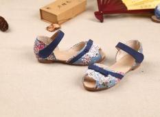 Spesifikasi Ba Baru Floral Sandal Untuk Anak Perempuan Di Musim Panas Intl Terbaru