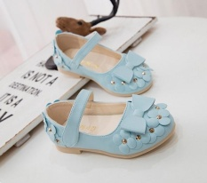 Harga Ba Small Flower Sweet Bow Tie Baby Single Shoe Leather Shoes Intl Merk Oem
