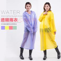 Babamu Jas Hujan Eva Non-Toxic Lightweight Raincoat - Yellow By Babamu.