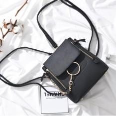 Korean Fashion Style Babosarang Tas Batam Ransel Selempang Backpack Wanita  Cewek Multifungsi Bahan PU Leather BS8 ee00fdeeaf